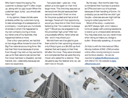 Ed Katz featured in Independent Dealer Magazine
